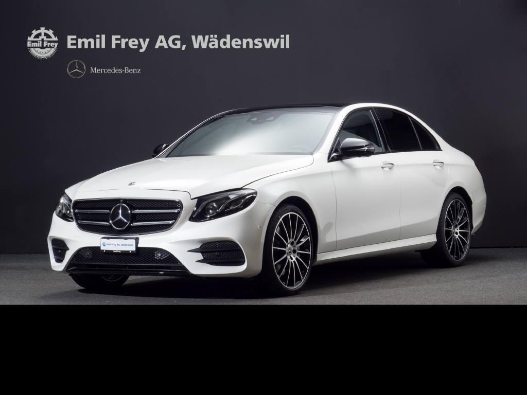 saloon Mercedes-Benz E-Klasse E 400 d AMG Line 4matic