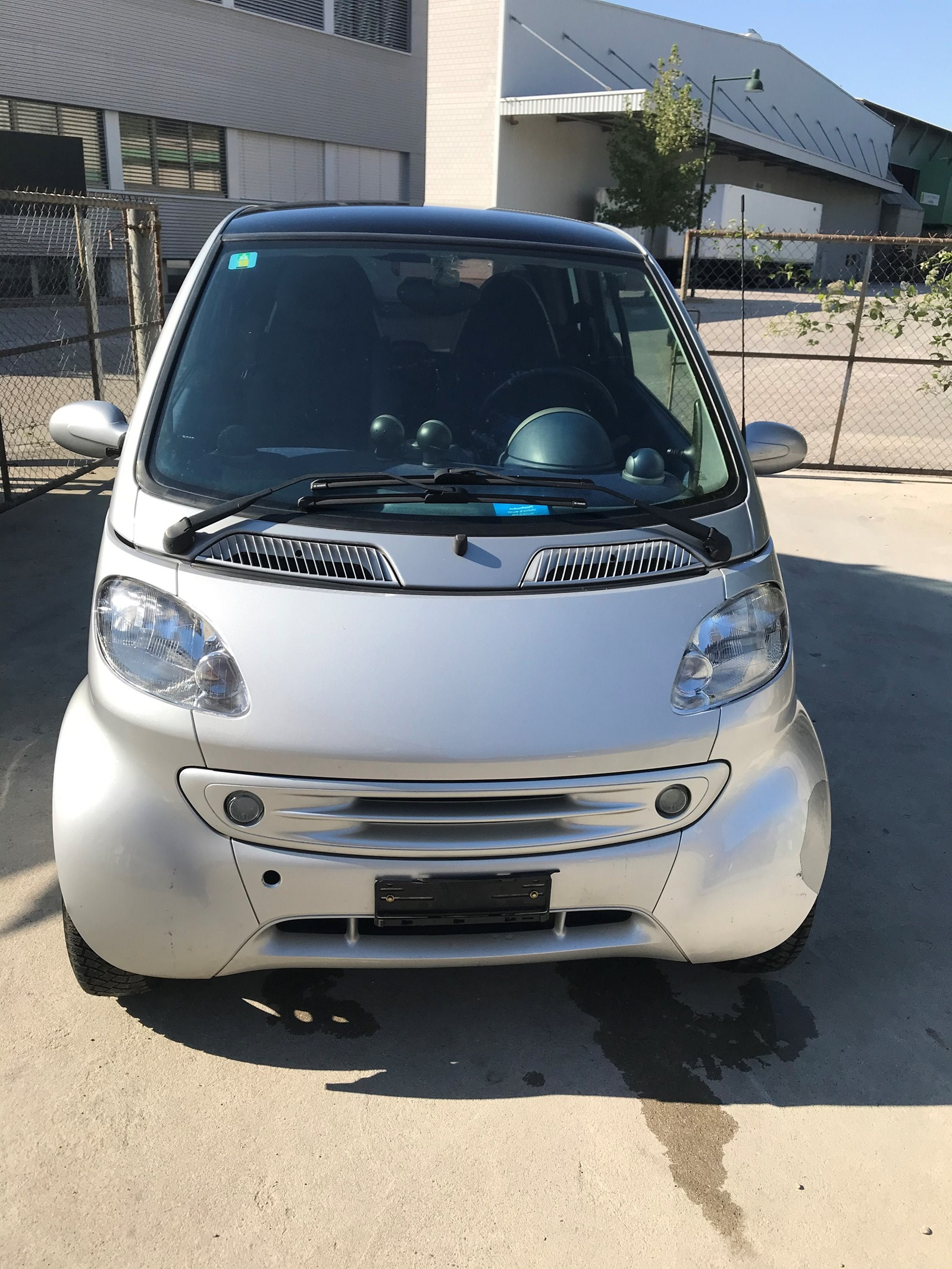 saloon Smart City/Fortwo fortwo silverstyle