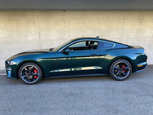 coupe Ford Mustang Coupé 5.0 V8 Bullitt