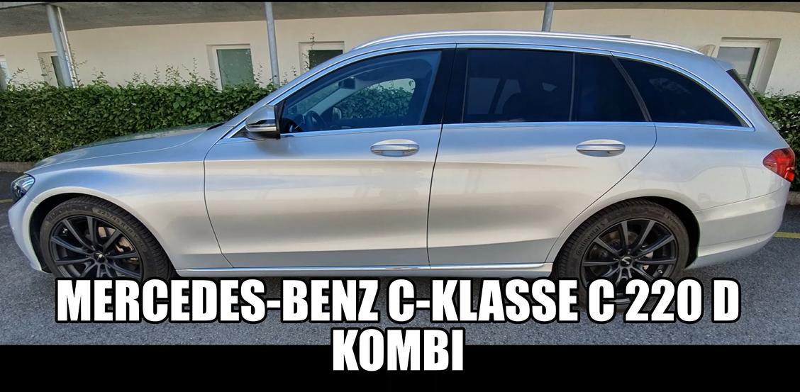 estate Mercedes-Benz C-Klasse C 220 d Kombi