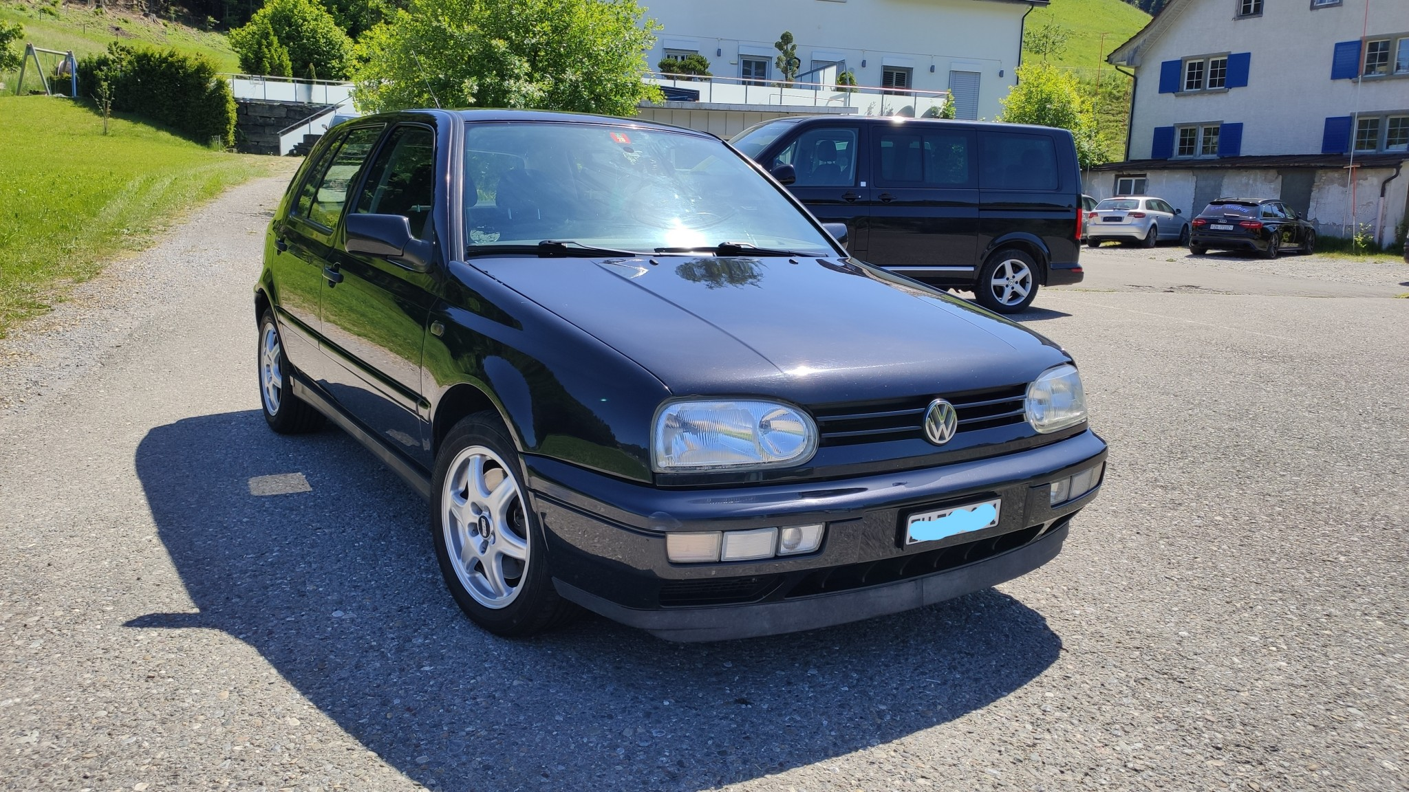 saloon VW Golf 3 2.9l VR6 Syncro