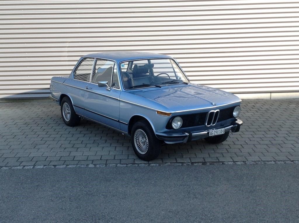 saloon BMW 1er 1602 104'650km 02.1975