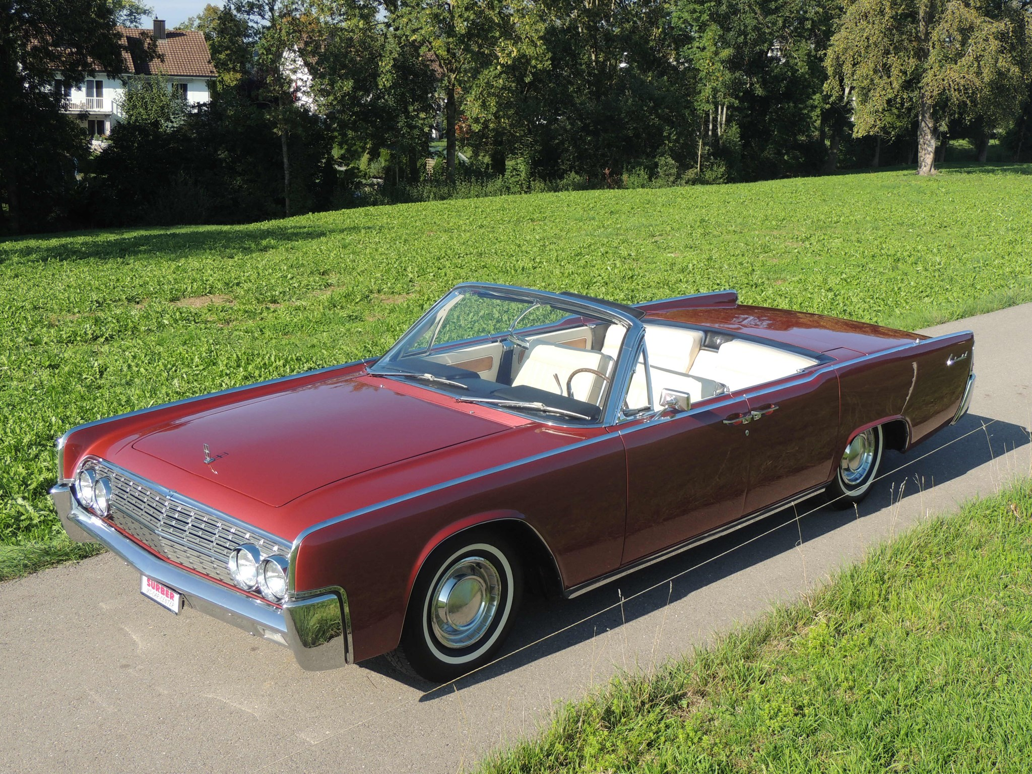 saloon Lincoln Continental 4-türiges Cabriolet