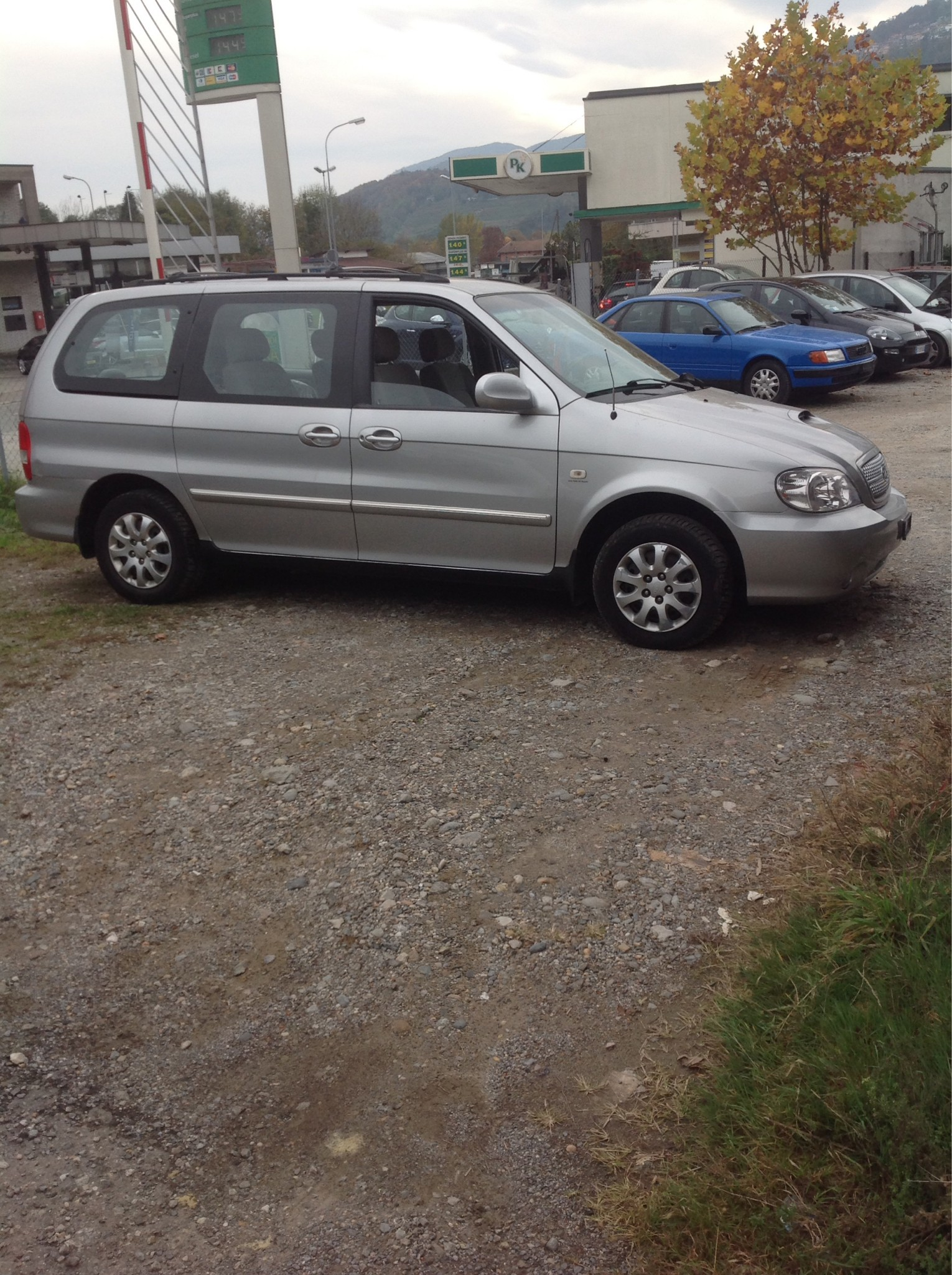 bus Kia Carnival 2.9 turbo diesel vendo . Collaudata 12/03/2020