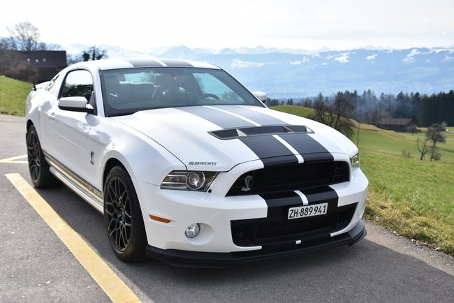Ford Mustang Shelby GT500 SVT 2013 20th Anniversary 75'000 km CHF69'900 - buy on carforyou.ch - 1