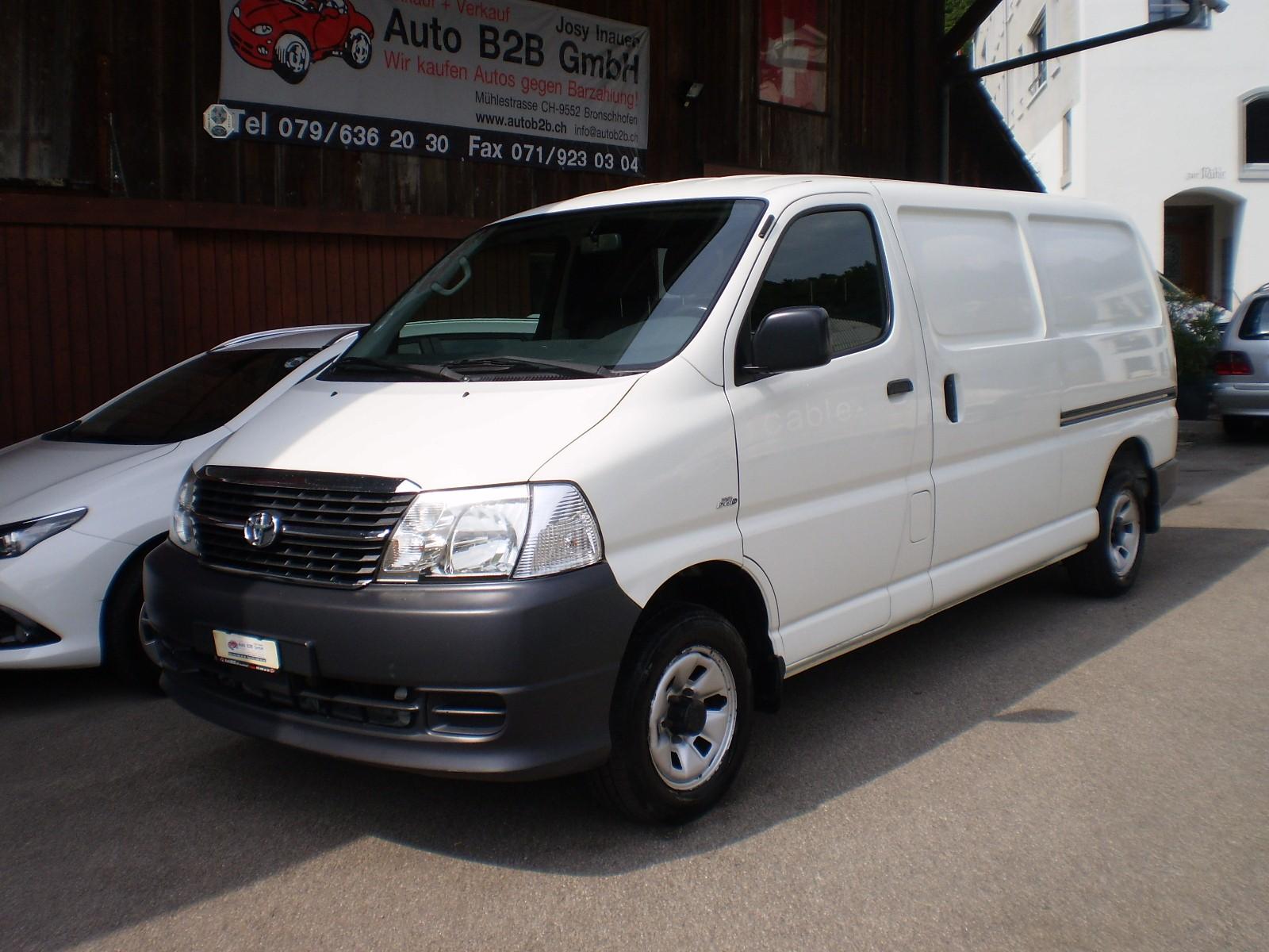bus Toyota Hiace D-4D Kombi4x4LangversionWerkstattwagen Sortimo