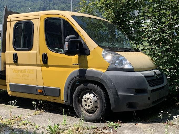 Citroën Jumper DKab.-Pick-up 35+ L3 2.2 HDI 120 95'678 km 5'200 CHF - acheter sur carforyou.ch - 1