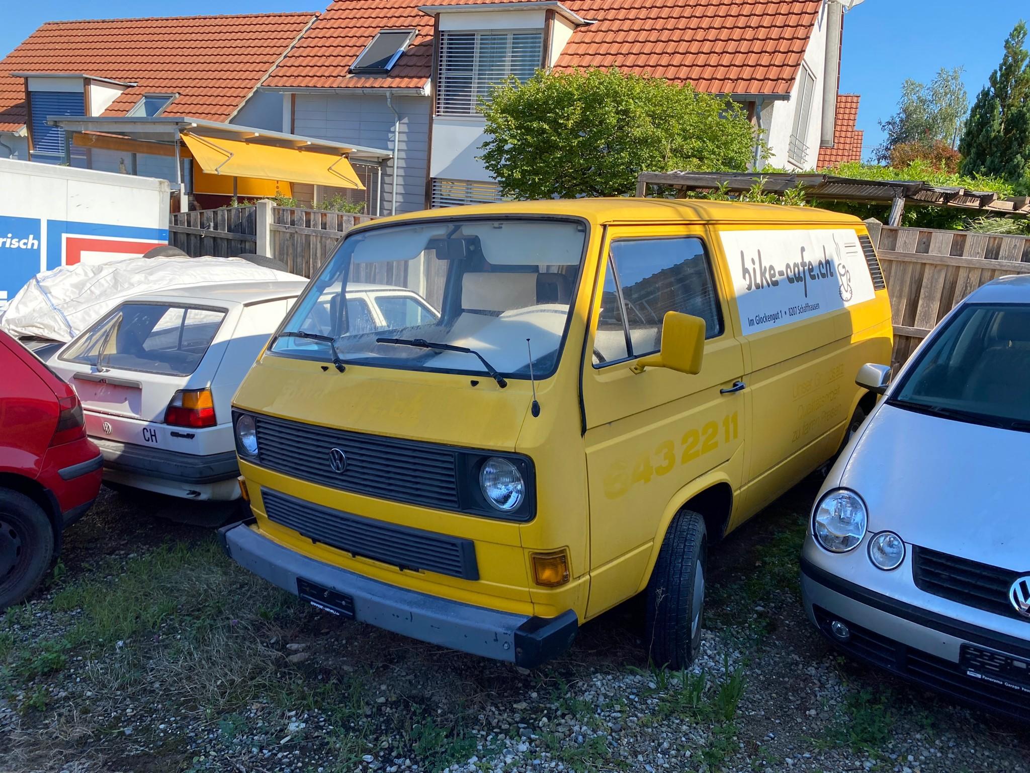 pickup VW Typ 2 T3 1.6l TD (Diesel)