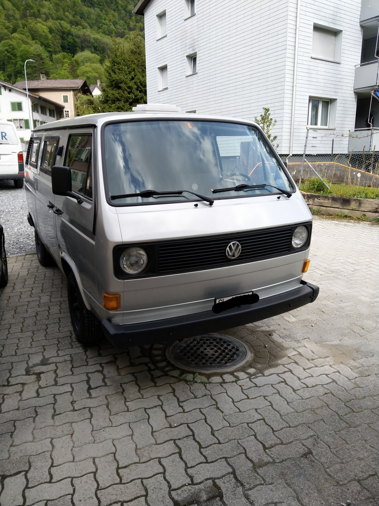 bus VW Typ 2 Silber