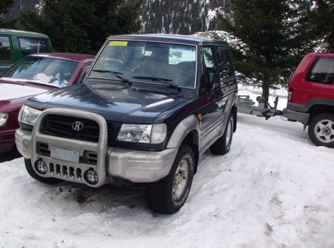 Hyundai Galloper 3.0, 1998, 180000km 190'000 km CHF3'000 - acquistare su carforyou.ch - 1