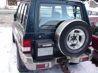 Hyundai Galloper 3.0, 1998, 180000km 190'000 km CHF3'000 - acquistare su carforyou.ch - 2