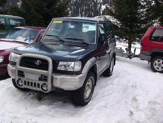 Hyundai Galloper 3.0, 1998, 180000km 190'000 km CHF3'000 - acquistare su carforyou.ch - 3