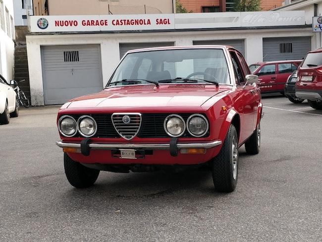 Alfa Romeo Alfetta 1.6 1978 100'000 km 16'500 CHF - acquistare su carforyou.ch - 1