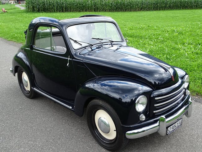 Fiat 500 C Topolino Oltimer 90'000 km CHF14'800 - buy on carforyou.ch - 1