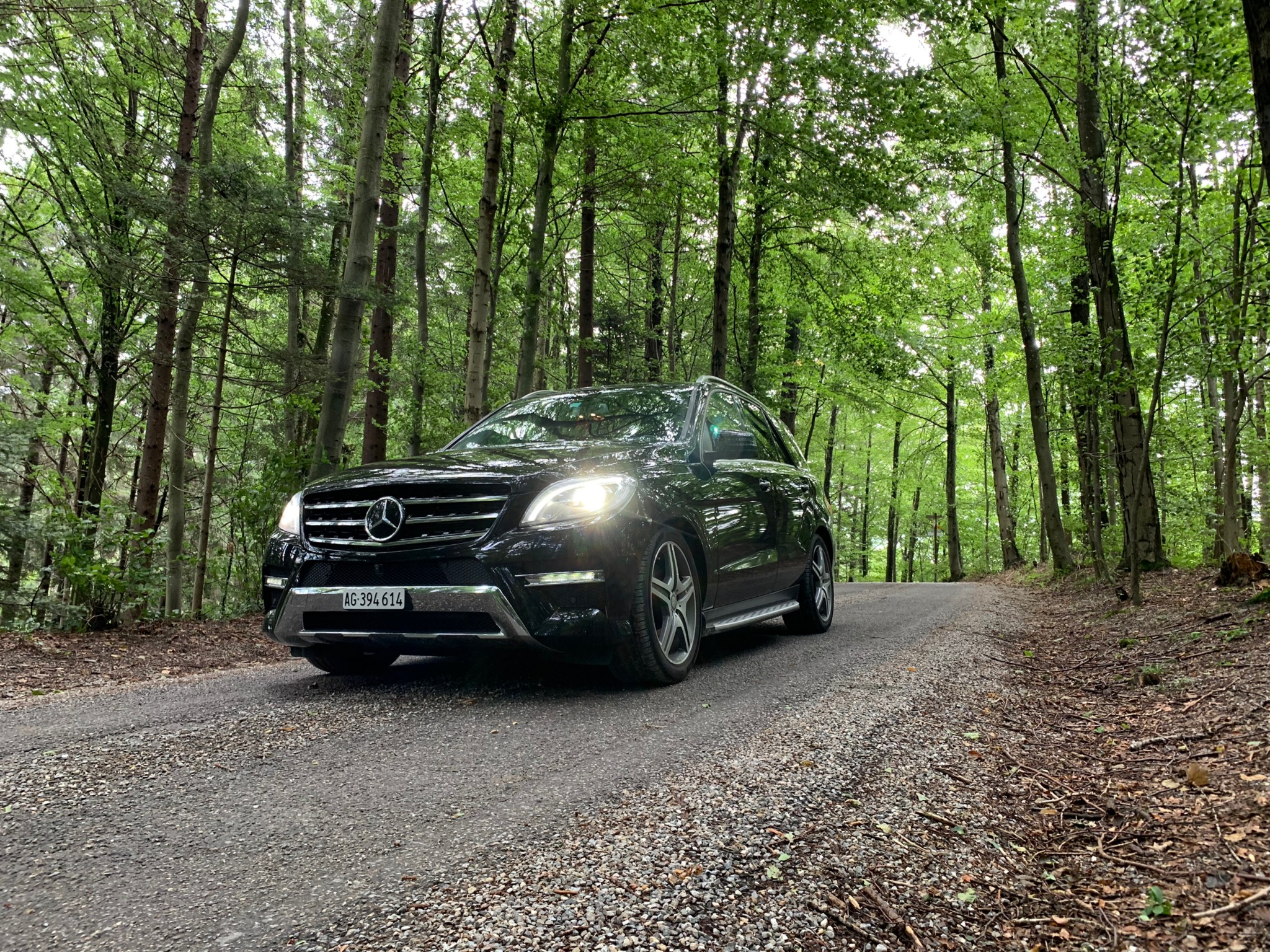 suv Mercedes-Benz M-Klasse Ml 350 AMG Look