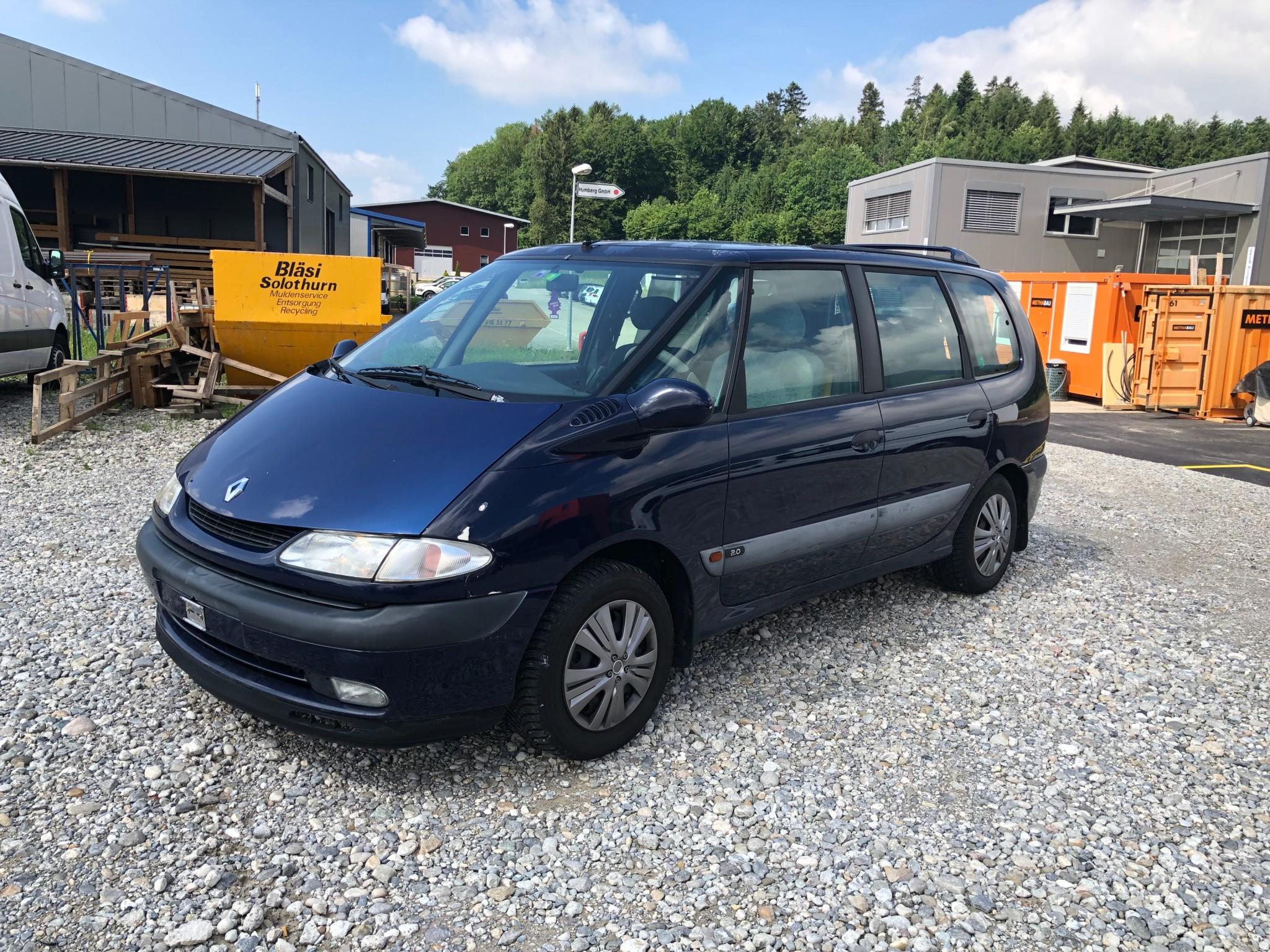 bus Renault Espace 2.0