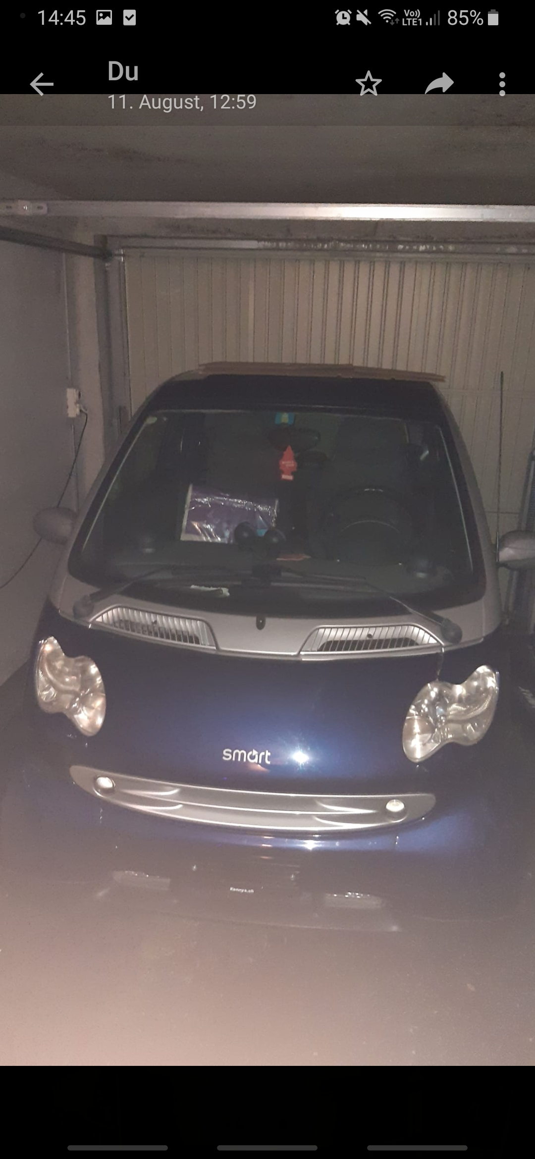 citycar Smart Fortwo