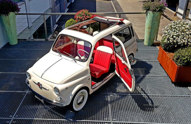Fiat 500 Giardiniera 100 km CHF37'000 - buy on carforyou.ch - 1