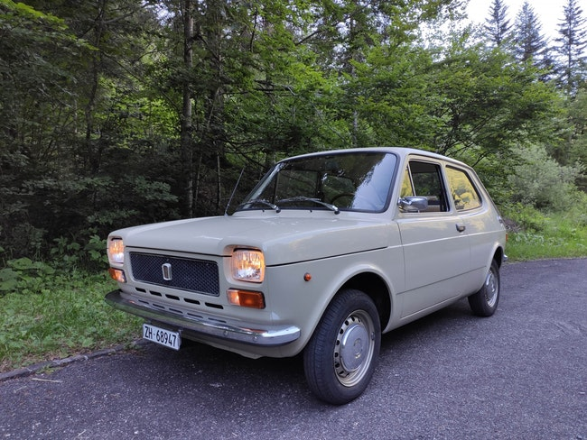 saloon Fiat 127 1. Serie (kl. Heckdeckel)