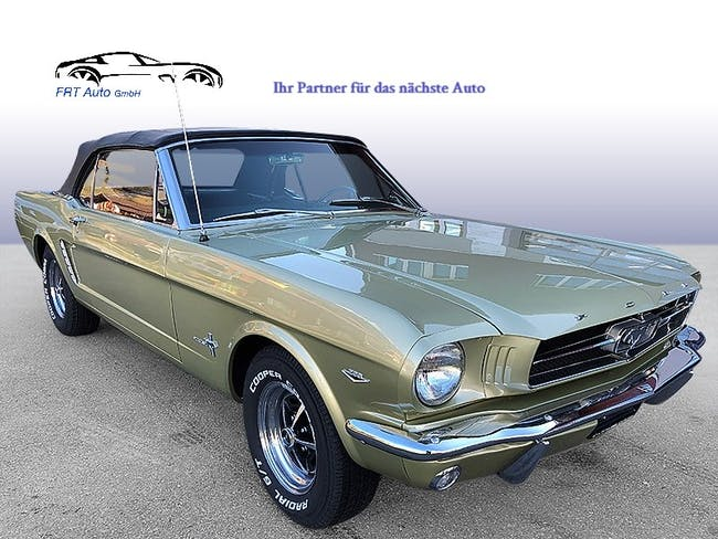 Ford Mustang 289 23'000 km CHF65'000 - buy on carforyou.ch - 1