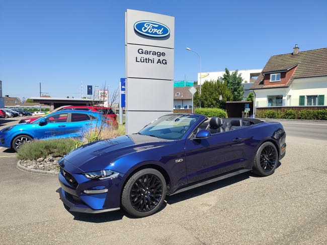 Ford Mustang Convertible 5.0 V8 GT 50 km CHF68'900 - buy on carforyou.ch - 1