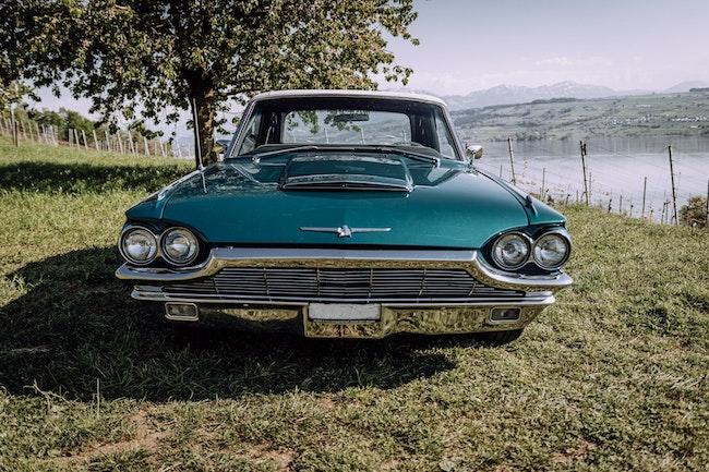 cabriolet Ford Thunderbird Offen mit Verdeck/Softtop