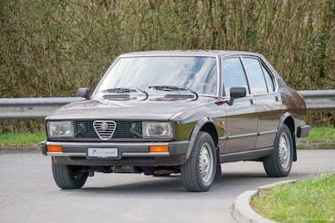 Alfa Romeo Alfetta 2.0 110'980 km CHF19'900 - kaufen auf carforyou.ch - 2
