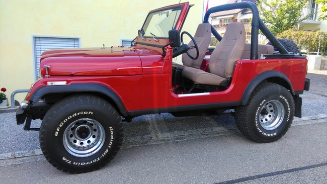 cabriolet Jeep CJ 7
