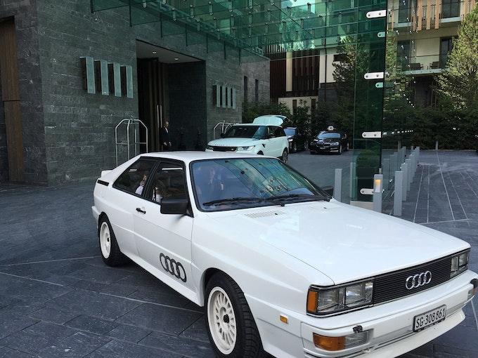 Audi Coupé quattro quattro Turbo 162'800 km CHF86'000 - kaufen auf carforyou.ch - 1