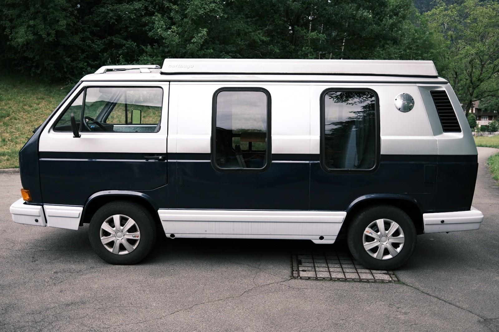 pickup VW Typ 2 -Bus T3 Typ 2 Camper/Van - ab Platz