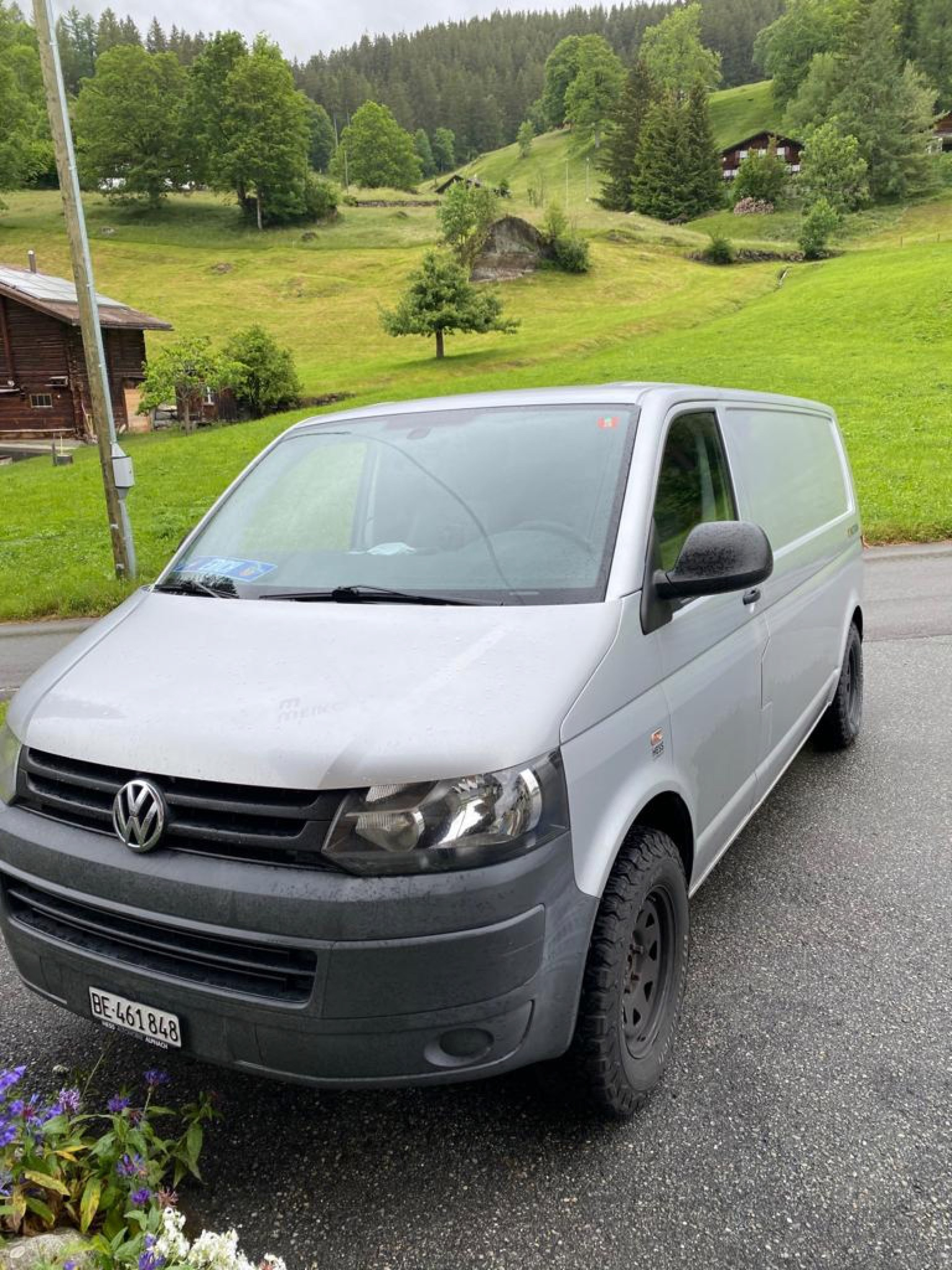 bus VW T5 Transporter 4 Motion Mit Standheizung