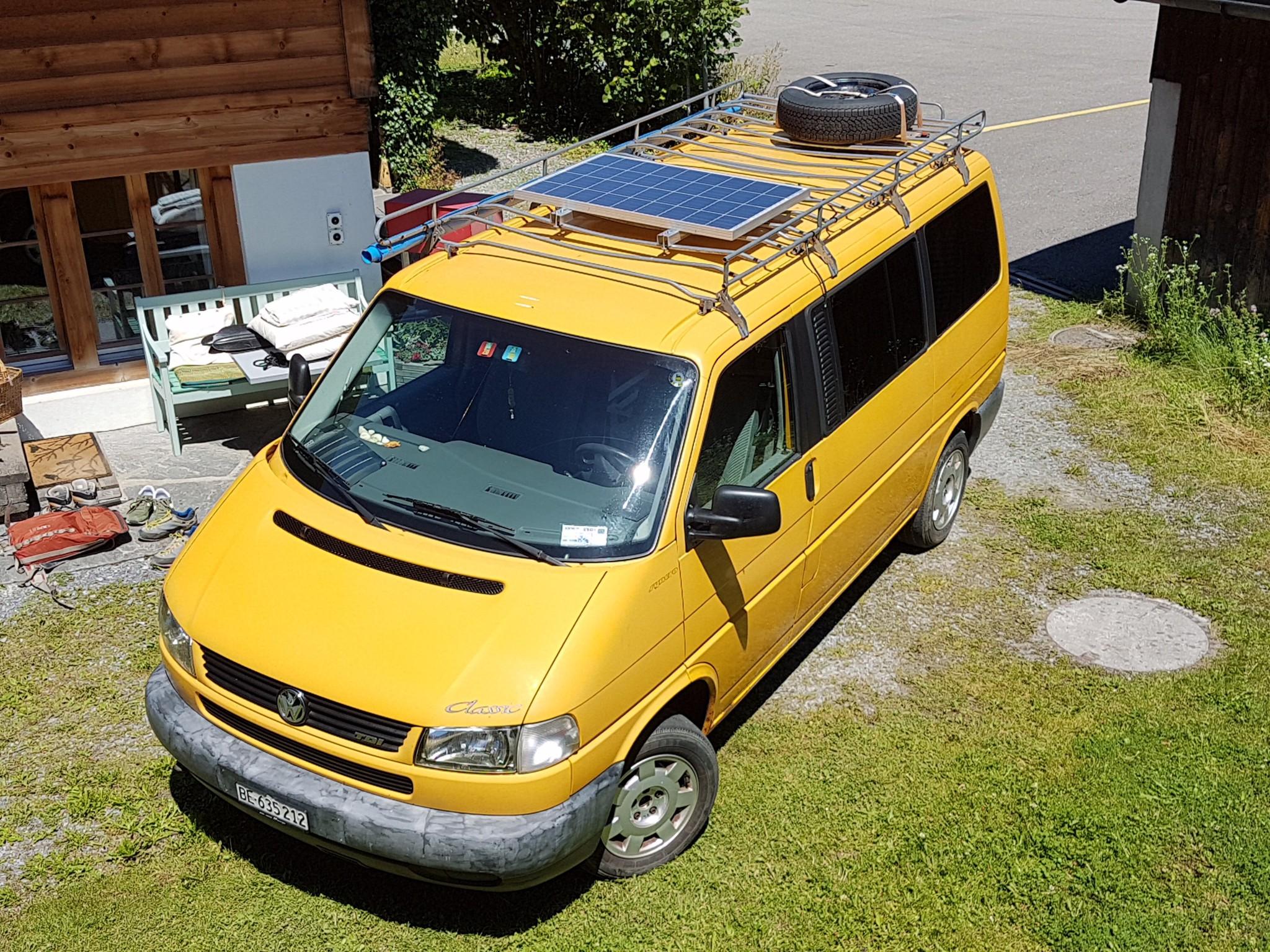 bus VW T4 Multivan 4x4 mit Campingausbau