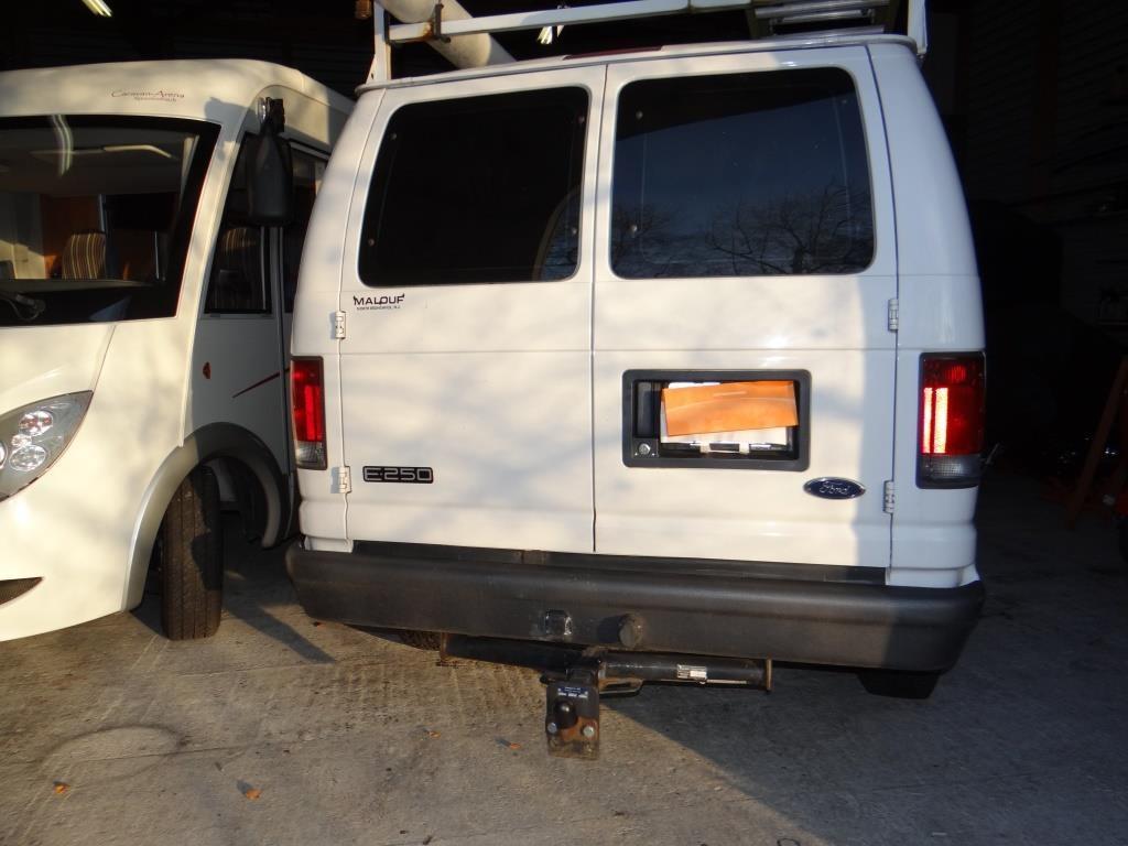 bus Ford Escort Van E 250 Van US Car für Privat Detektiv