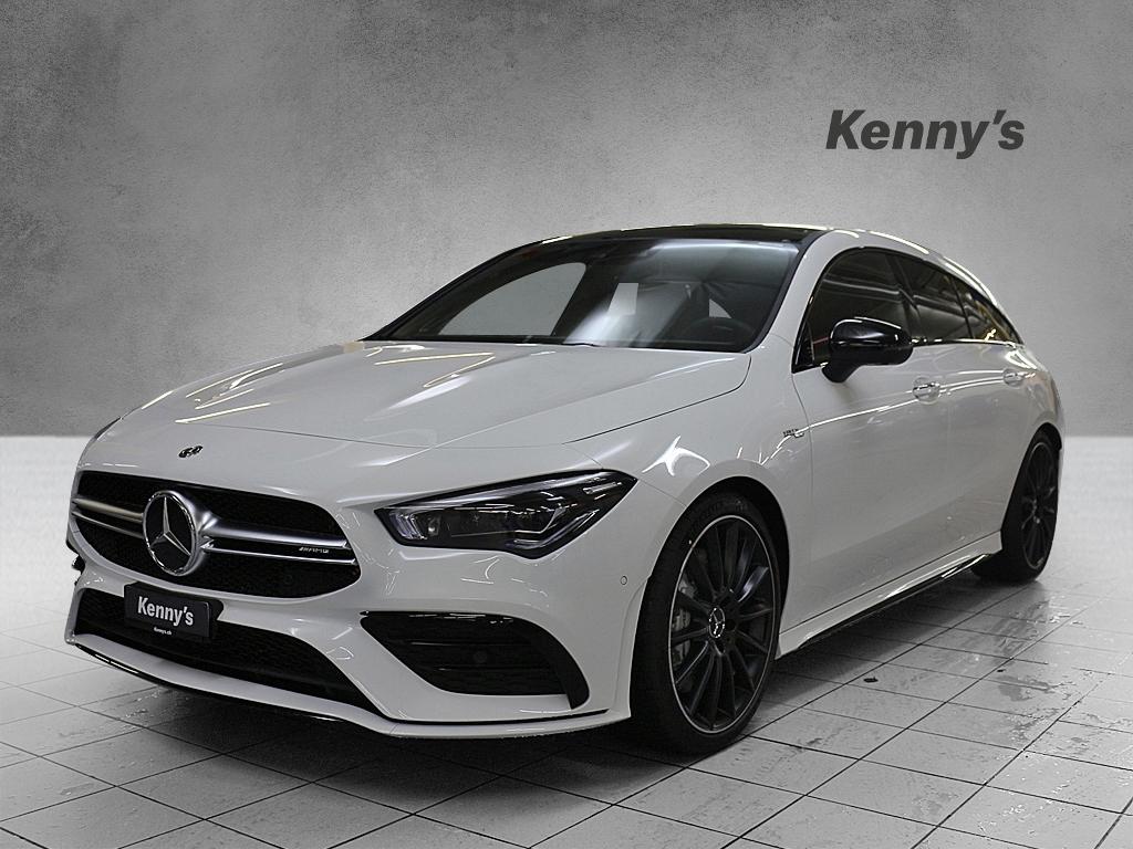 Buy Used Car Wagon Mercedes Benz Cla Klasse Cla 35 Amg 4matic Shooting Brake 14000 Km At 57900 Chf On Carforyou Ch