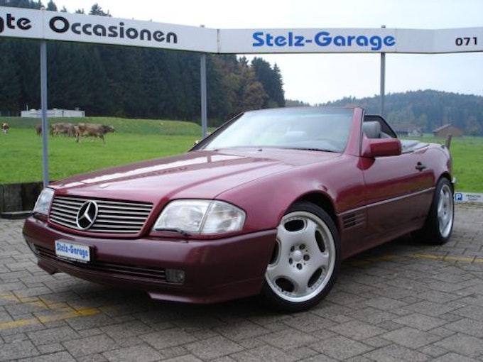 Mercedes-Benz SL 500 V8 ABS AiB 79'000 km CHF27'800 - buy on carforyou.ch - 1