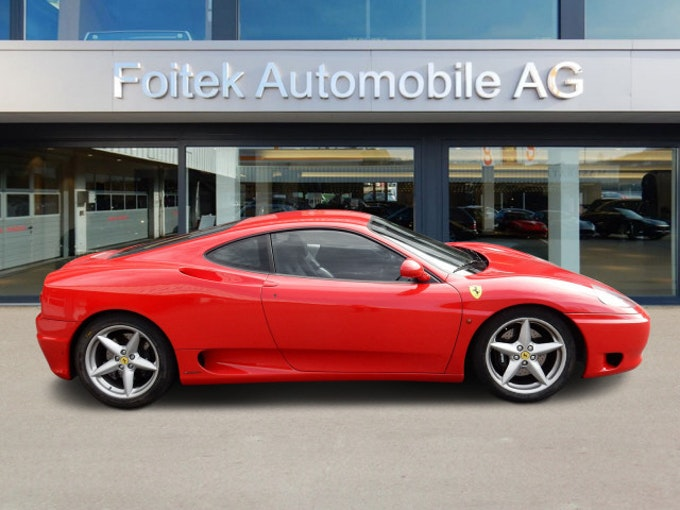 Ferrari 360 F360 Modena Berlinetta 63'700 km 69'800 CHF - kaufen auf carforyou.ch - 1