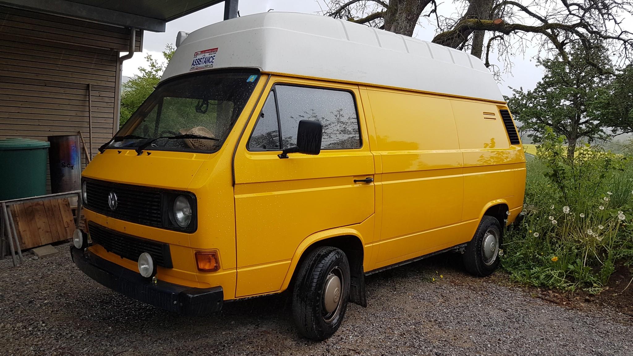 bus VW Typ 2 T3 zuverkaufen