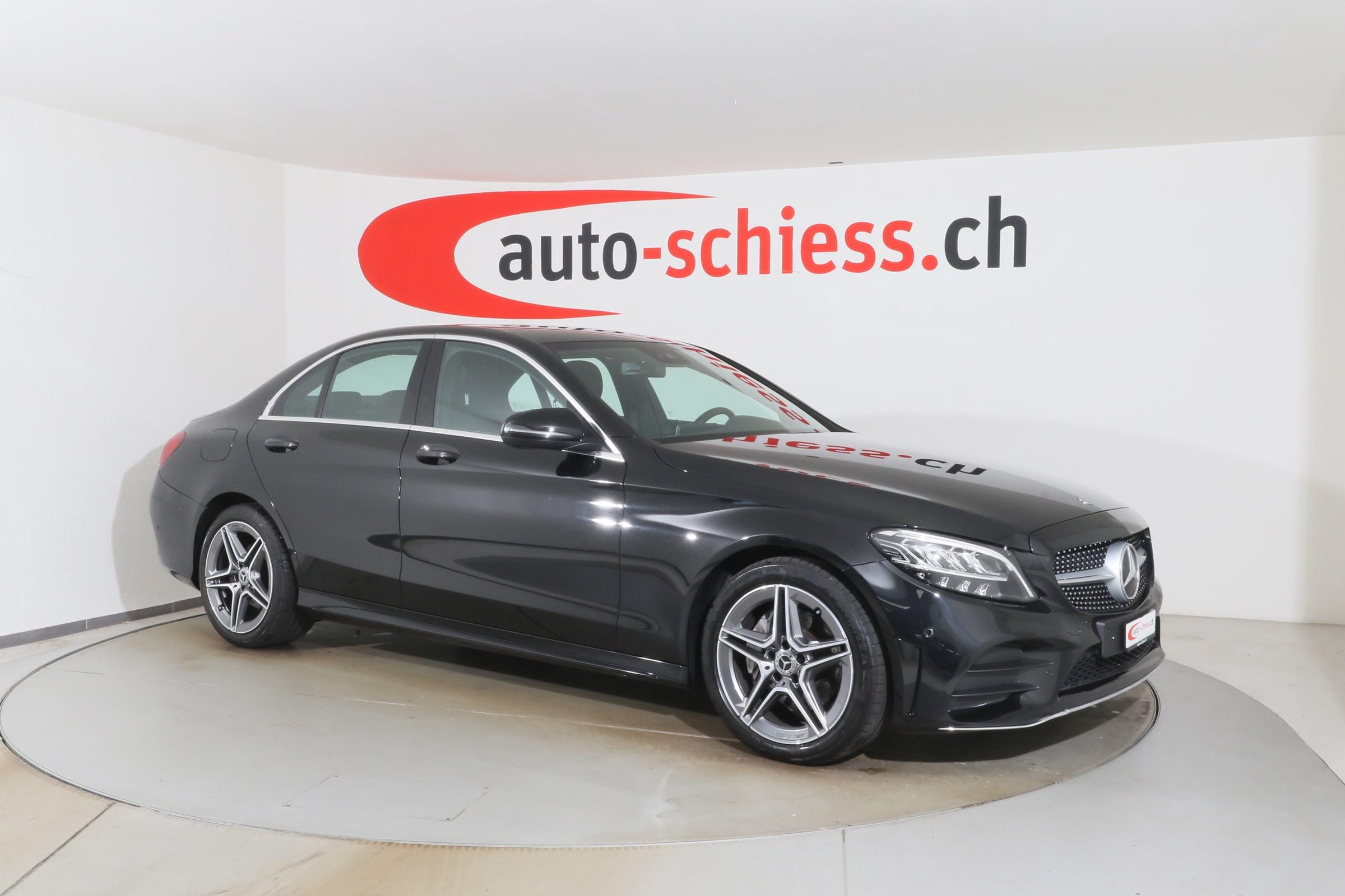 Buy Used Car Sedan Mercedes Benz C Klasse C 180 D Amg Line 9g Tronic 24867 Km At 28500 Chf On Carforyou Ch