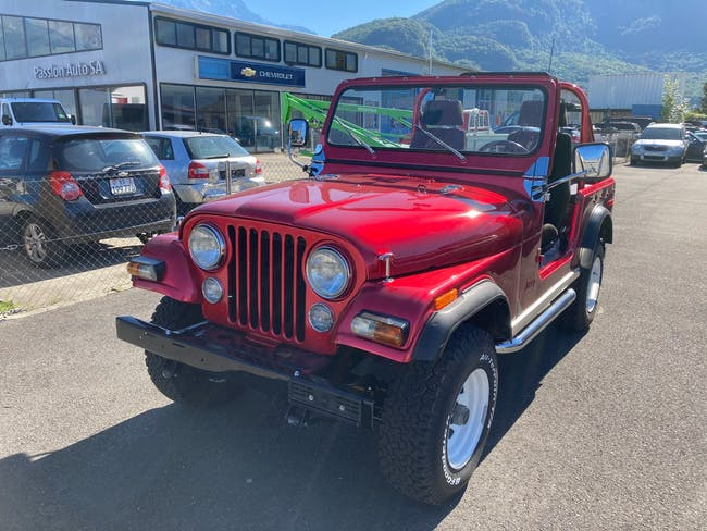Jeep CJ-7 CJ 72'000 km CHF24'900 - kaufen auf carforyou.ch - 1