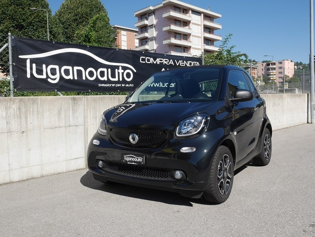 saloon Smart Fortwo passion twinmatic
