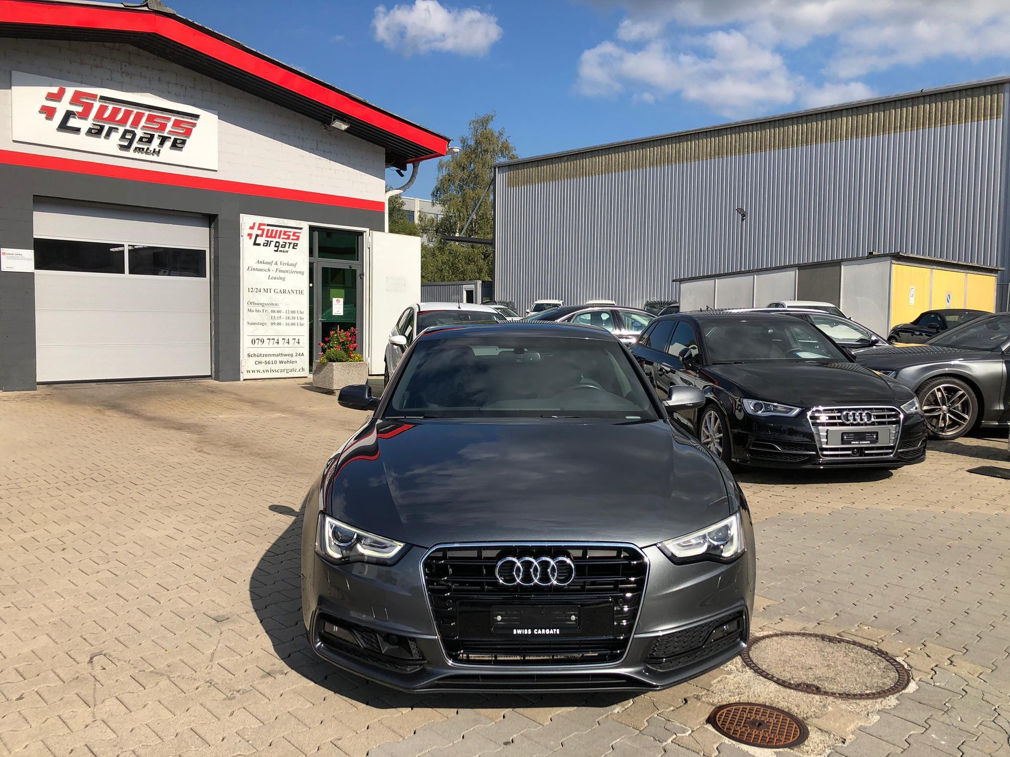 saloon Audi A5 Sportback 1.8 TFSI multitronic S Line 5 Plätze