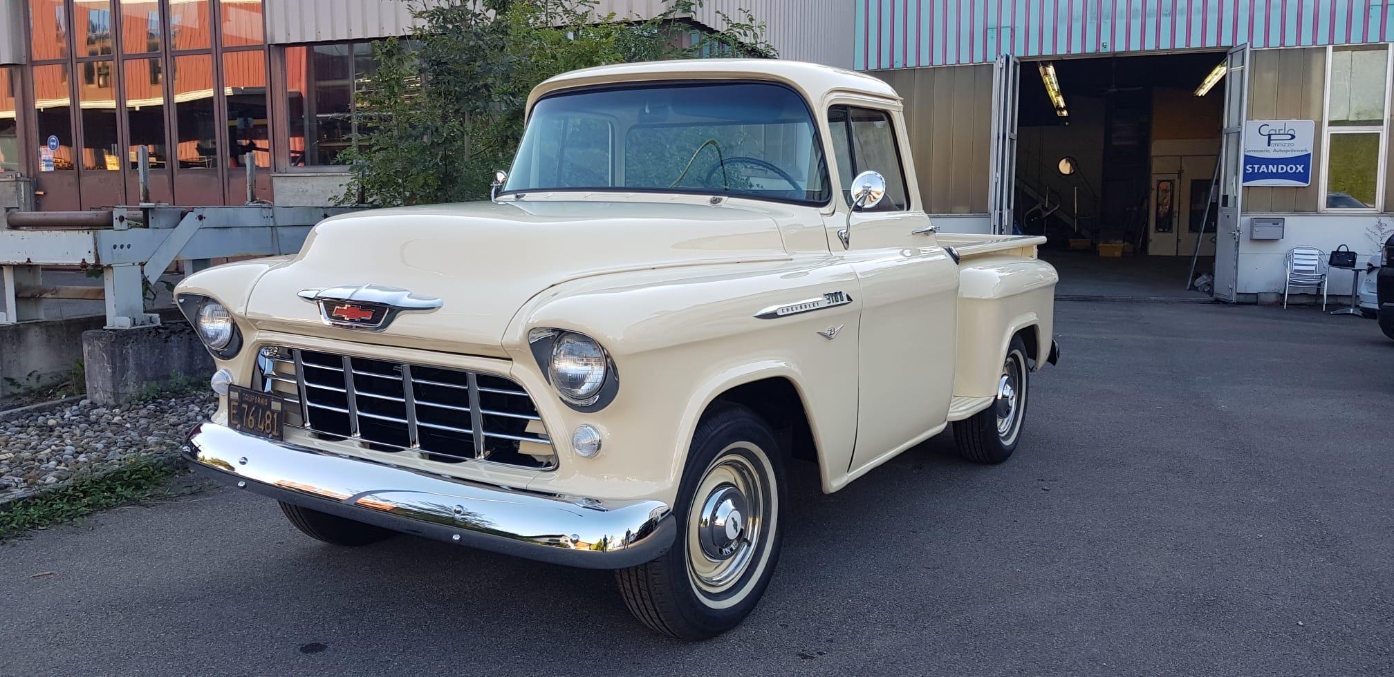 pickup Chevrolet Task Force 1955 Task Force 3100 Step Side Pick Up 4.3V8 Automatik