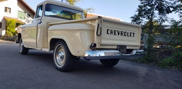 Chevrolet Task Force 1955 Task Force 3100 Step Side Pick Up 4.3V8 Automatik 57'500 km 79'995 CHF - acquistare su carforyou.ch - 2