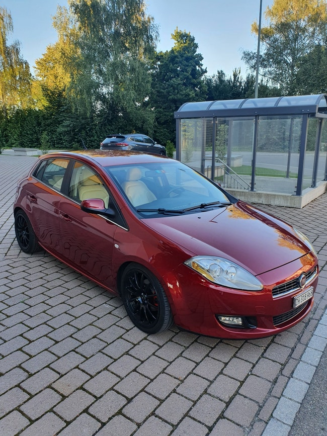 saloon Fiat Brava 1.9 Diesel frisch Mfk