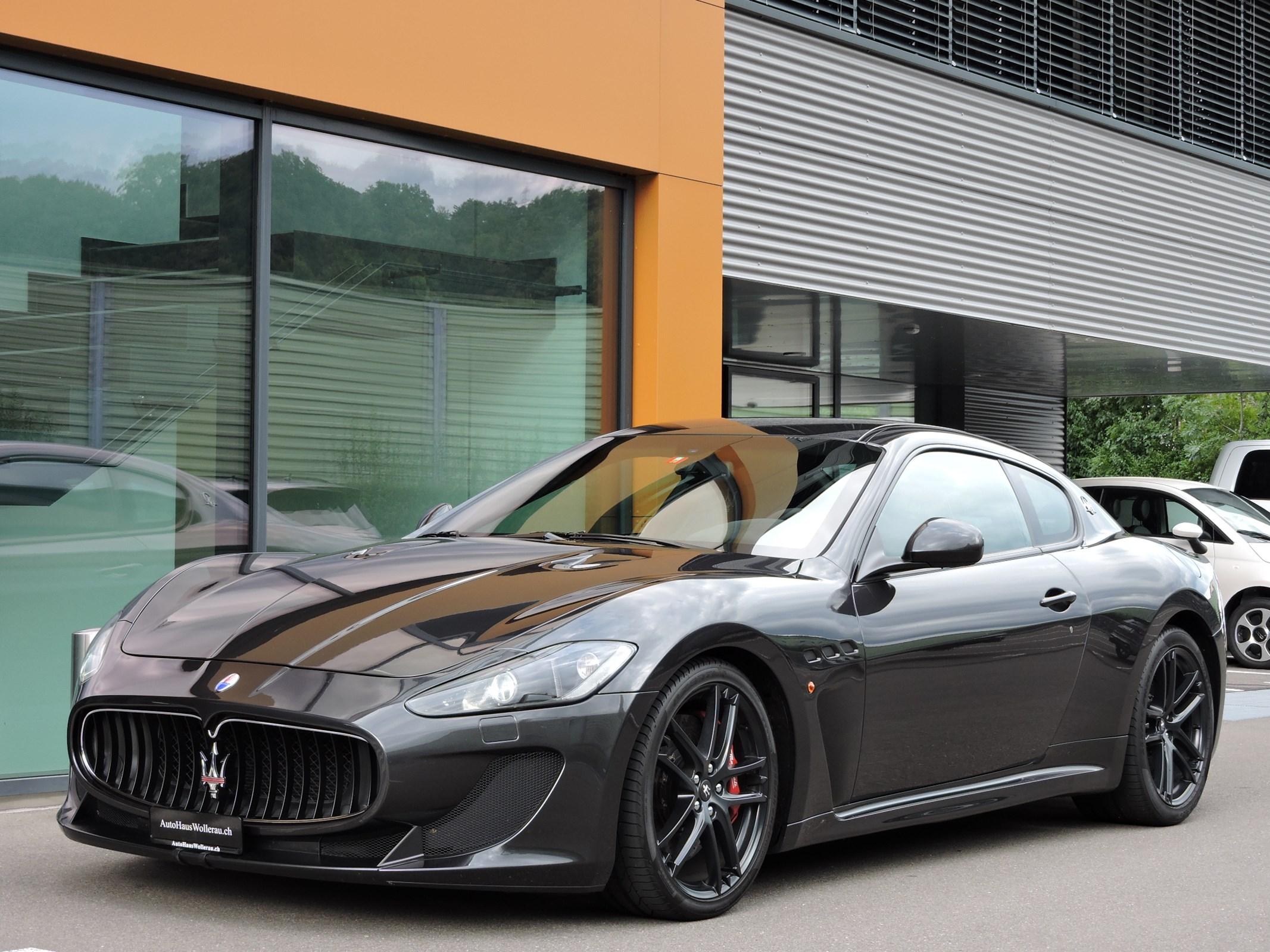 sportscar Maserati GranCabrio/Granturismo GranTurismo MC Stradale