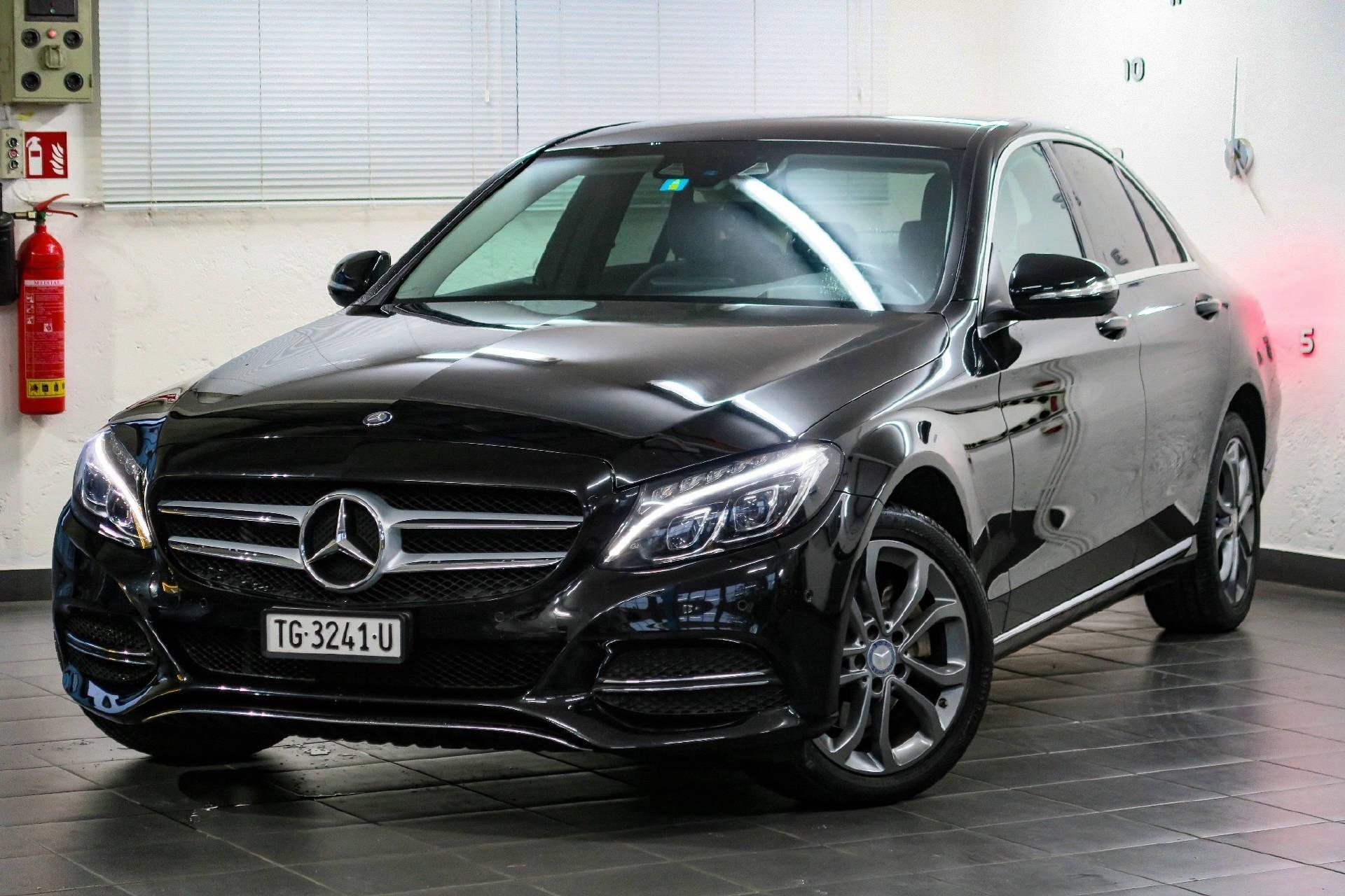 Buy Used Car Sedan Mercedes Benz C Klasse C 220 Bluetec Avantgarde 108500 Km At 22950 Chf On Carforyou Ch
