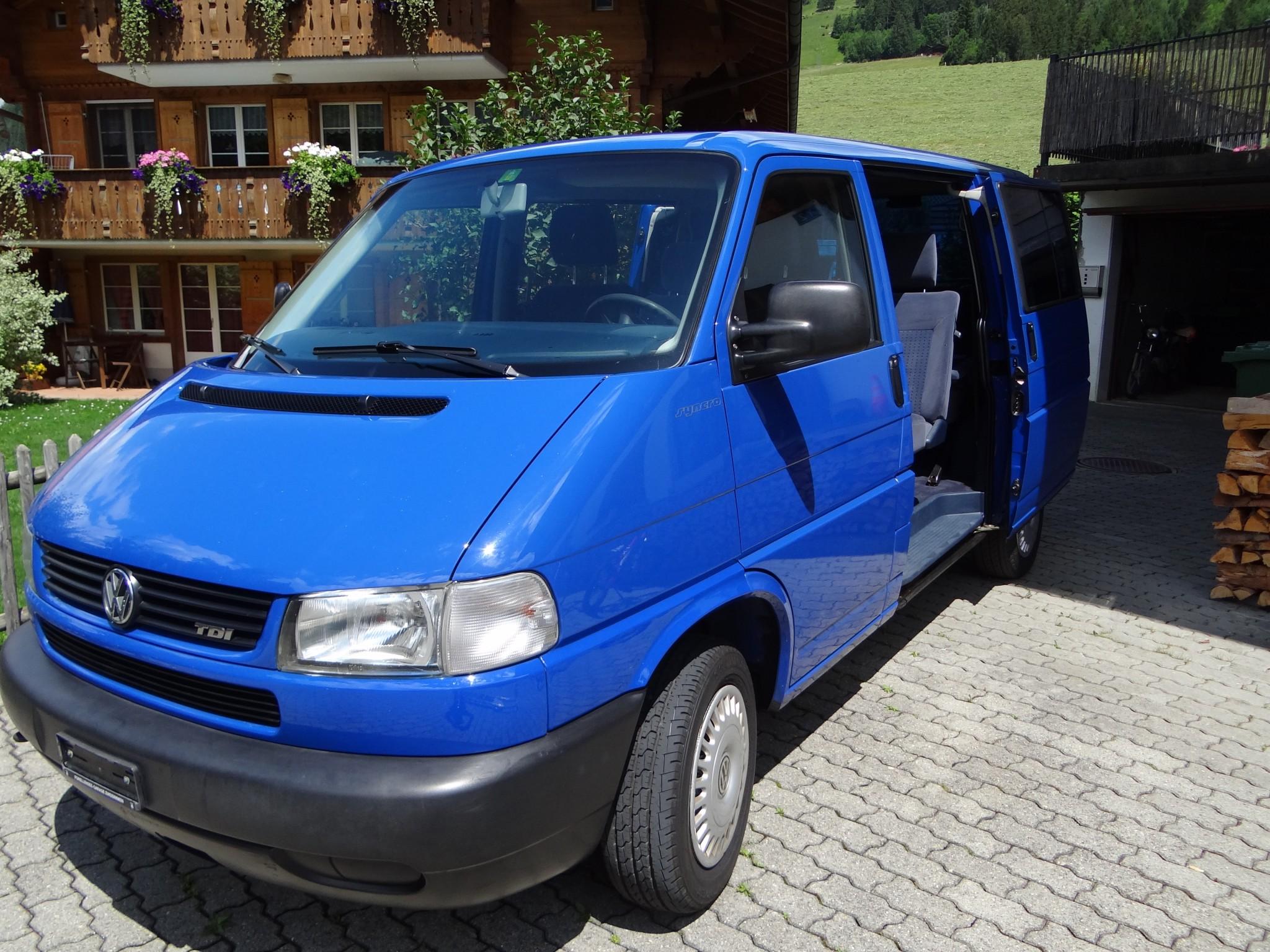 bus VW T4 Syncro ab MFK