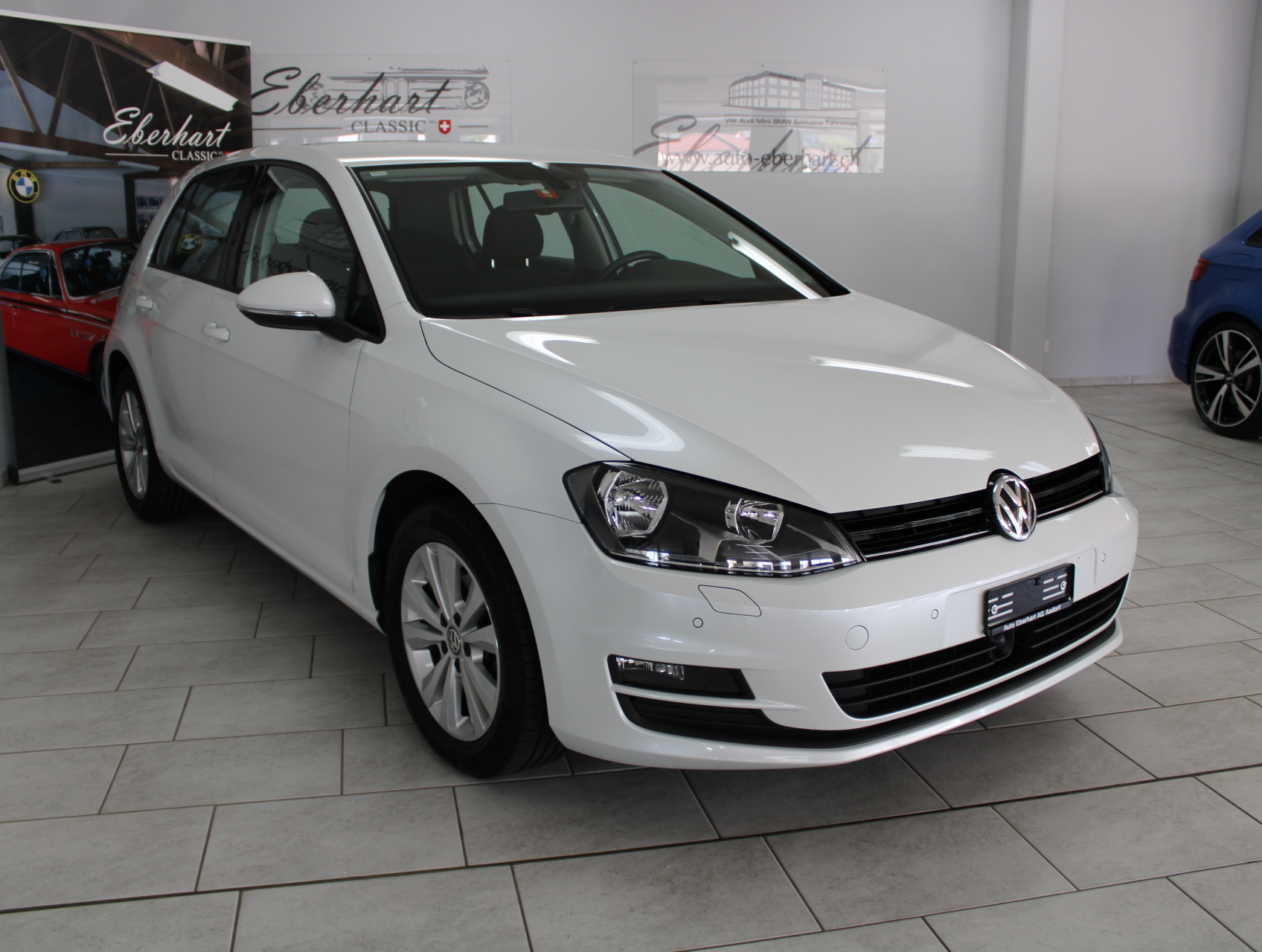 saloon VW Golf 2.0 TDI