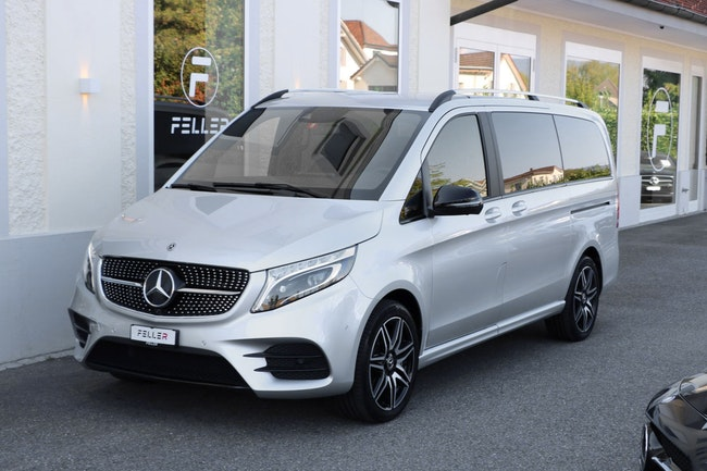 van Mercedes-Benz V-Klasse V 300 d long Exclusive 4Matic 9G-Tronic