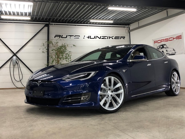 saloon Tesla Model S 90 D Allrad 525PS Free Supercharger